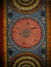 India: Meenakshi Temple Ceiling Paintings | PATTERNS of ...