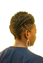 elegant upstyle twists