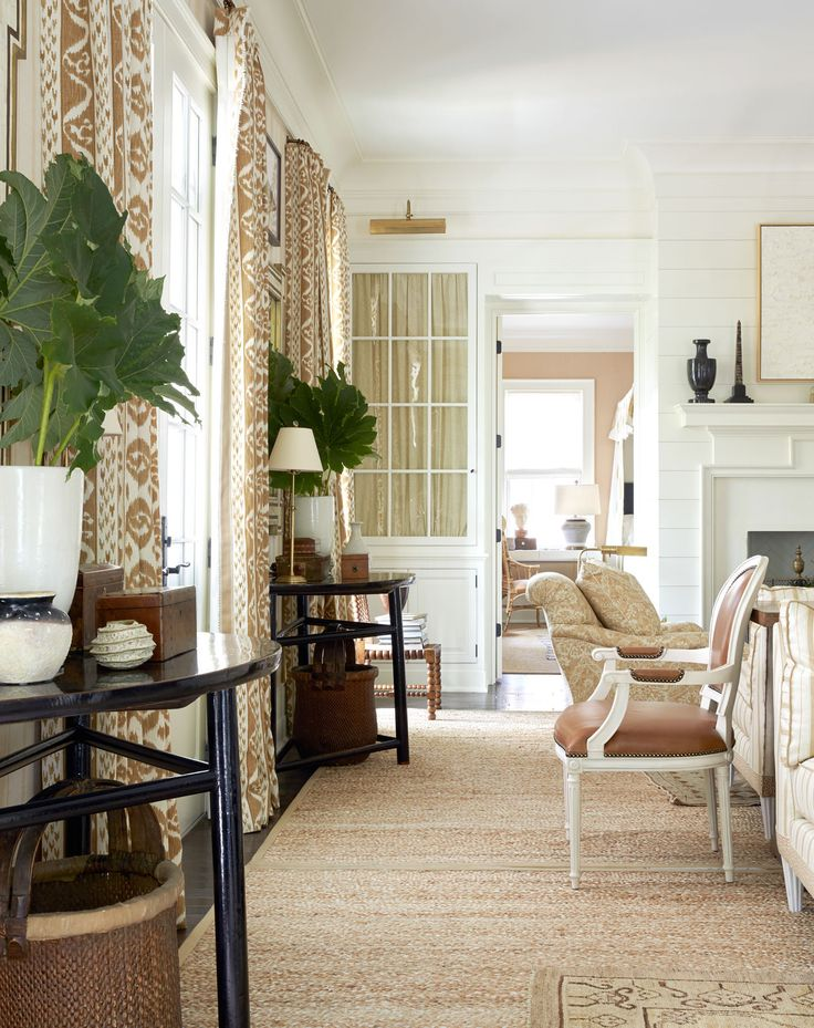 17 best ideas about Southern Living Rooms on Pinterest  Southern living homes Brick floor