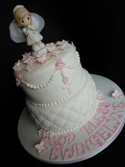Precious Moments First Communion Cake FIrst Communion