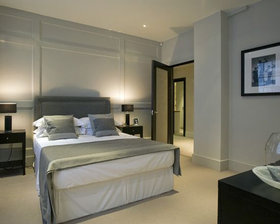11 Best Ideas About Wall Panel On Pinterest Brown Headboard Master Bedrooms And Grey Walls