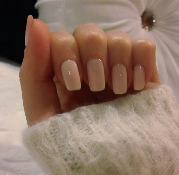 Im obsessed with this nail Color: Mimosas for Mr. and Mrs. by OPI – for perfect neutral nails
