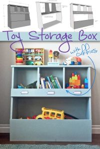 25+ best ideas about Kids toy boxes on Pinterest