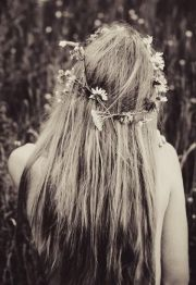 long hippie hairstyle 1960's