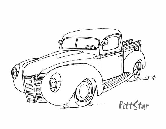 17 Best images about Vehicle Coloring Pages on Pinterest