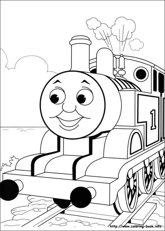 thomas the train blank coloring pages for 3rd grade