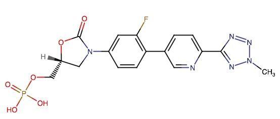 Tedizolid Phosphate is an oxazolidinone antibacterial drug