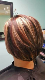 1000 ideas red blonde highlights