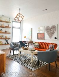 25+ best ideas about Orange sofa on Pinterest | Orange ...