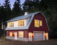 Free Gambrel Roof Pole Barn Plans
