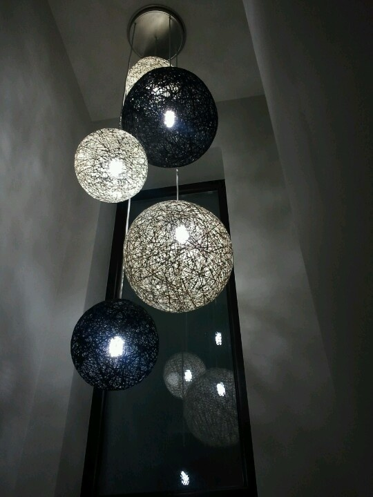 Lamparas Colgantes Para Escaleras Lumo Lamps Lmparas Colgantes Con Cable De Colores En