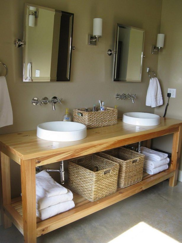 25+ best ideas about Unfinished bathroom vanities on