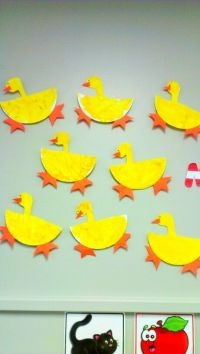 Paper plate Animal craft | Paper Plate ducks #kidscraft # ...