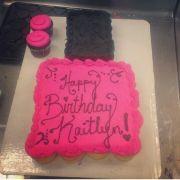 nail polish cupcake cakes