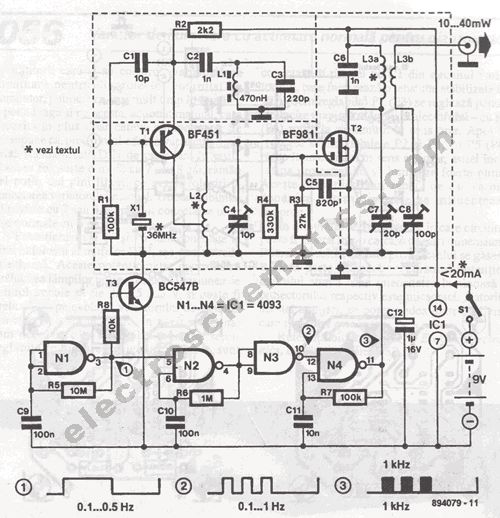 Wiring Diagram For Radio Propagation Beacons