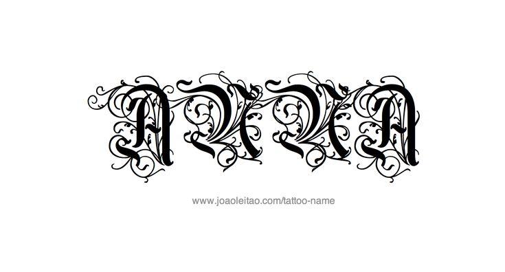 tattoo-design-female-name-anna (22).png 1,640×884 pixels