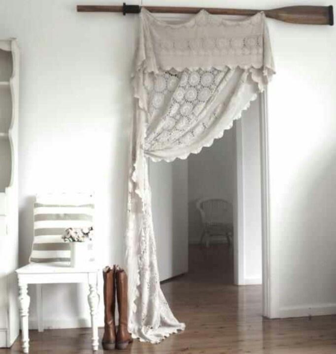 Doorway curtain instead of closet door?