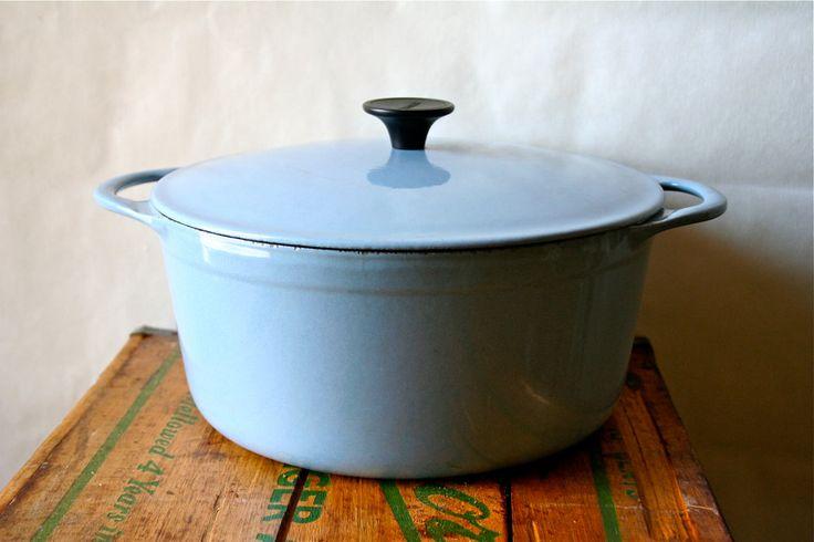 Vintage Cousances Dutch Oven Pan LeCreuset Le Creuset