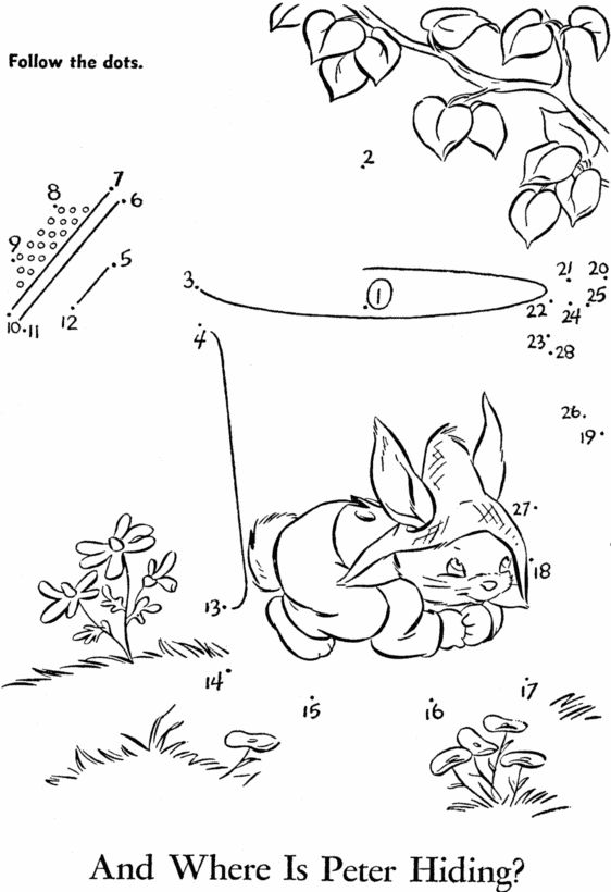 362 best images about Kids worksheet dot to dot on