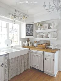 25+ best ideas about White Farmhouse Kitchens on Pinterest ...