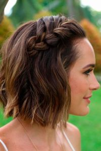 25+ best ideas about Braiding Short Hair on Pinterest ...