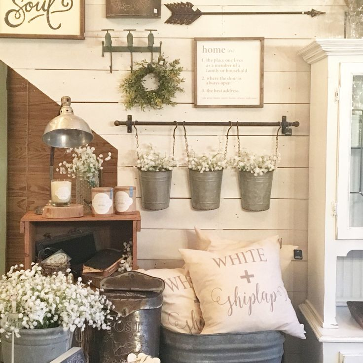 25+ best ideas about Rustic Farmhouse Decor on Pinterest