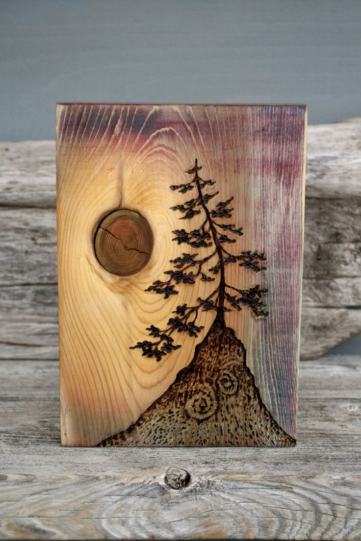 Ancient Tree – Art Block – Woodburning. Going to attempt woodburning again! Gotta keep my hands busy. Relaxing hobby too (: