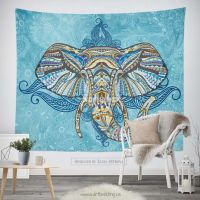 17 Best images about Elephant inspired wall tapestry ...