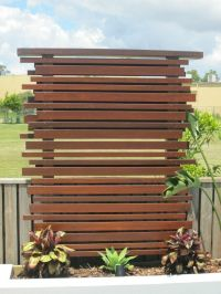 Outdoor Privacy Screen Panels, Wooden Privacy Screen ...