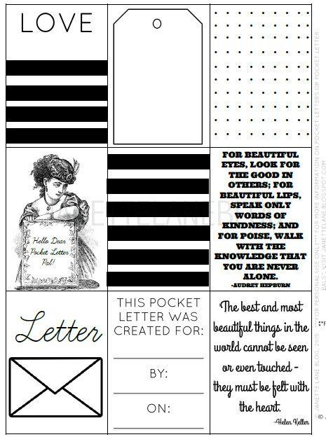 17 Best images about pocket letters on Pinterest