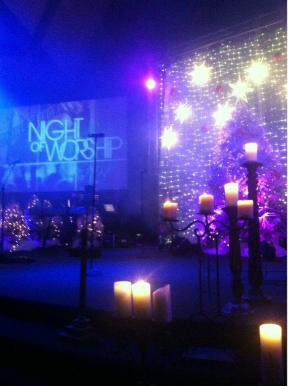 30 Best images about Church stage design on Pinterest  Trees Hanging lights and Snowflakes
