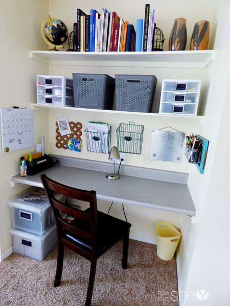 1000 ideas about Desk Organization Tips on Pinterest