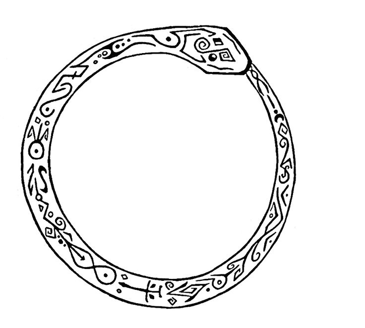 1000 Ideas About Ouroboros Tattoo