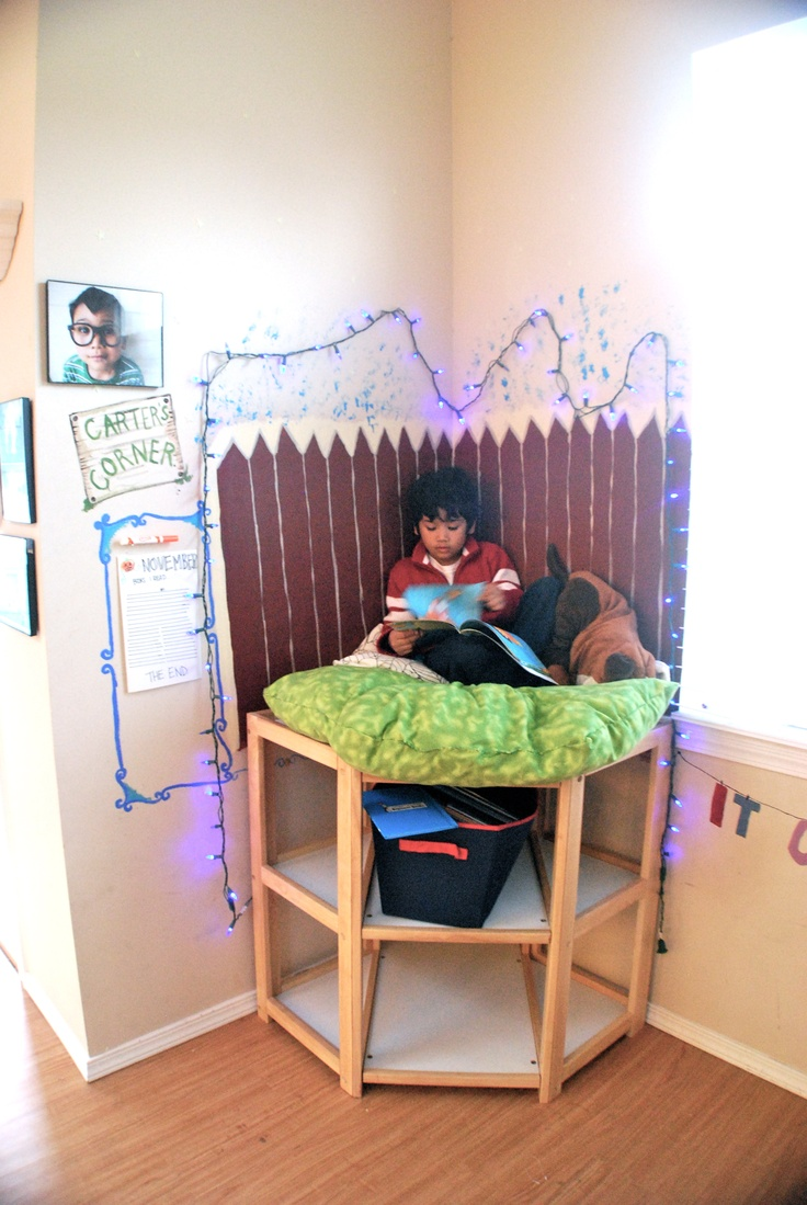 Carters Reading Nook Out Of An Old Changing Table