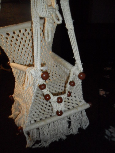 rope chair swing office amazon vintage retro macrame child hanging | for the princes pinterest macrame, ...