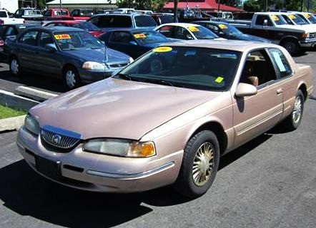 Used Mercury Cougar Xr7 96 For Sale In Wa 1990 Cheap