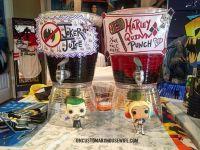 Batman Birthday Party Drinks. Superhero Birthday Party ...
