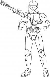 How to Draw a Clone Trooper, Step by Step, Star Wars