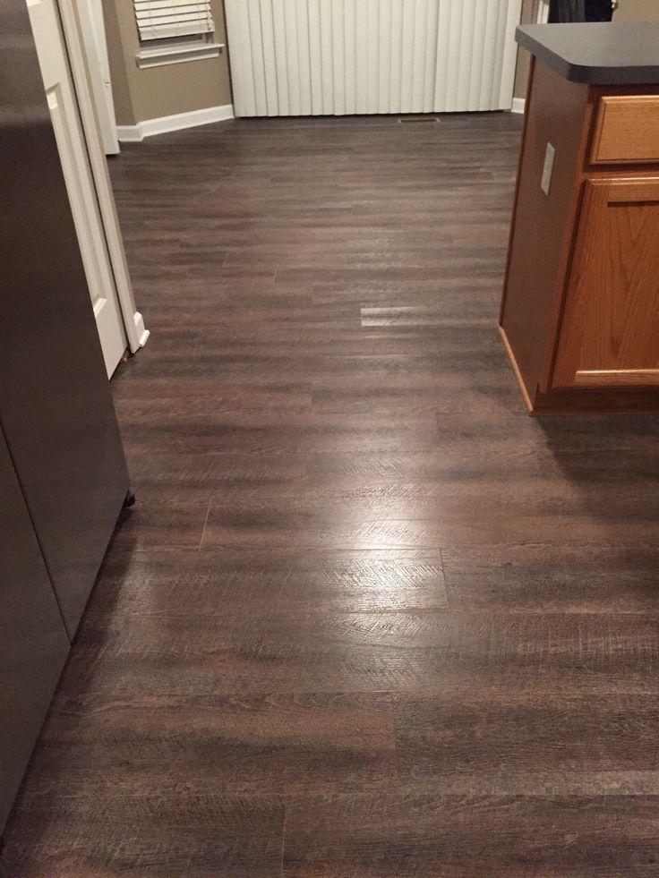 TrafficMaster Allure Sawcut Dakota Vinyl Planks  Flooring