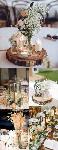 25+ best ideas about Rustic wedding centerpieces on ...