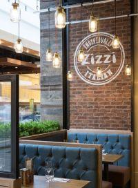 Zizzi italian restaurant branding | Interior Restaurants ...