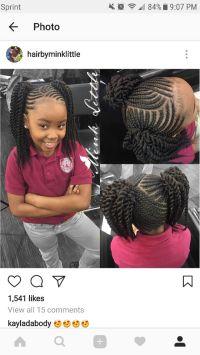 17 Best ideas about Kids Braided Hairstyles on Pinterest ...