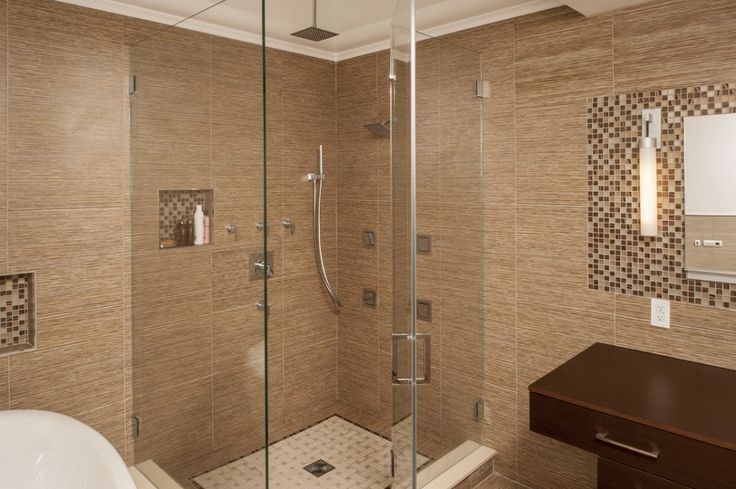 17 Best ideas about Shower No Doors on Pinterest