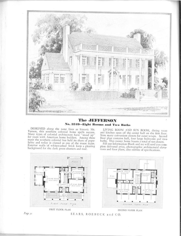 1000+ images about Sears/Catalogue Homes and Floorplans on
