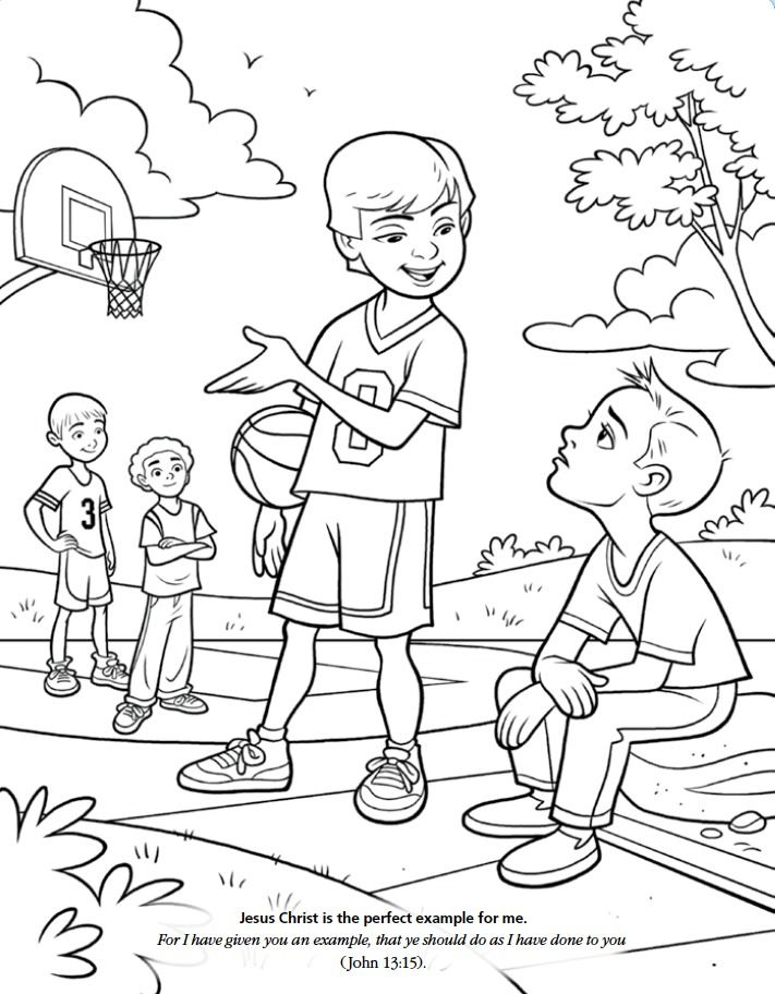 Lds Games Color Time