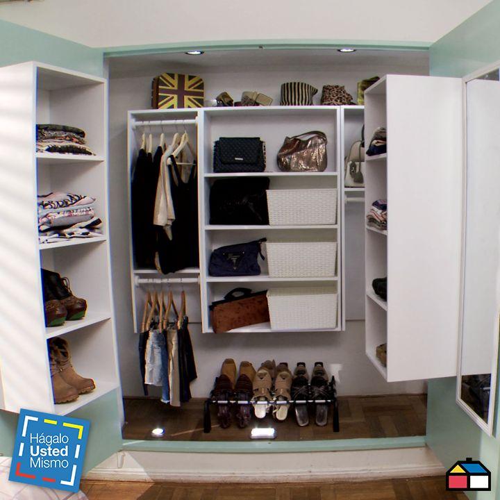 Cmo hacer de un closet un Walkin closet