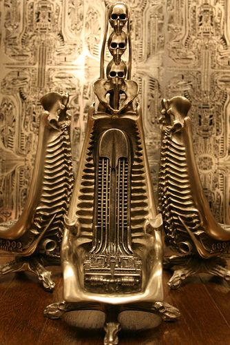 Giger bar Chairs and Aliens on Pinterest