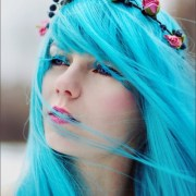 hair color teal