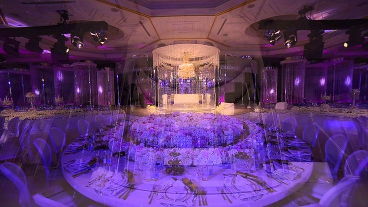 Royal Wedding Crystal Fairy Breath Theme In Habtoor Grand