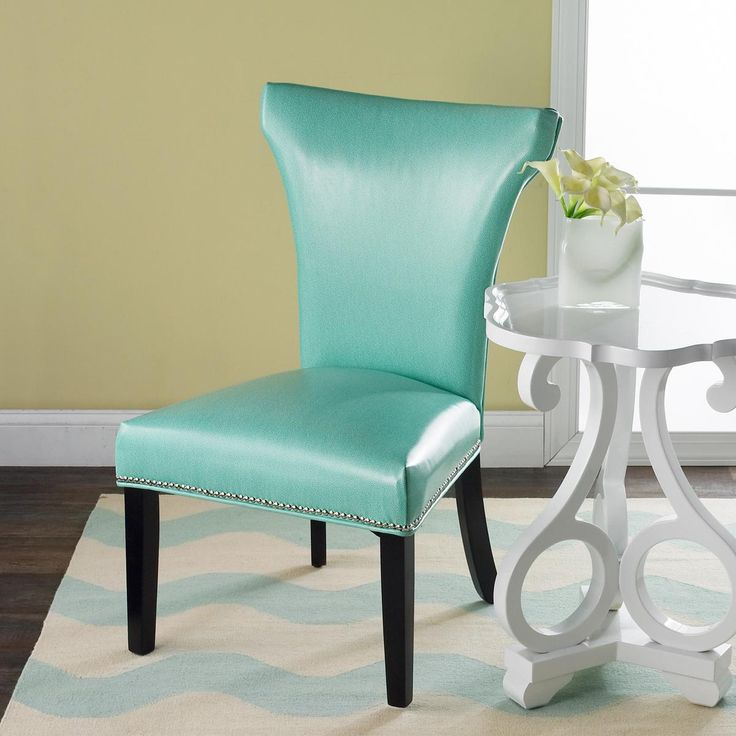 Turquoise Parsons Chair  Parsons Chairs Turquoise and